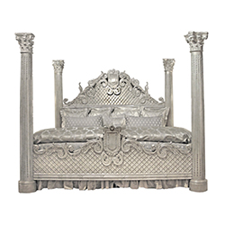 Grande Venetian Bed & Nightstands