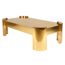 San Remo Gold Leaf Cocktail Table