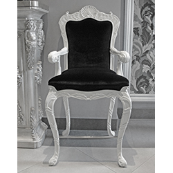 Set of 3 Rococo Bar Chairs