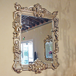 Borghesi Hand-Carved Mirror