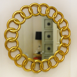 Interlocking Circles Mirror